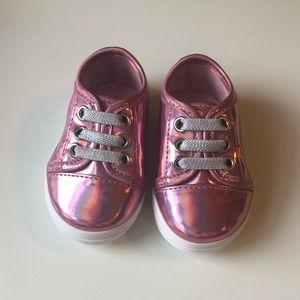 NWOT Stuart Weitzman Baby Eden London Pink Sneaker